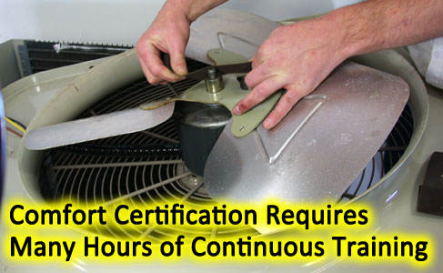 Central air conditioning fan motor replacement