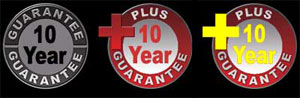 free estimate 10 year parts and labor heating and air conditioning guarnatee